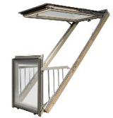 Мансардное окно-балкон Fakro