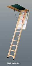 Чердачная лестница LWK Komfort