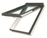 Мансардное окно Fakro пластиковое с комбинированным открыванием
